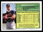 1994 #194  Javier Lopez  Back Thumbnail