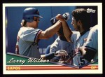 1994 Topps #230  Larry Walker  Front Thumbnail