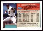 1994 Topps #58  Mike Jackson  Back Thumbnail