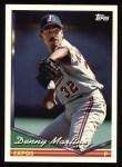 1994 Topps #440  Dennis Martinez  Front Thumbnail