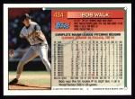 1994 Topps #434  Bob Walk  Back Thumbnail