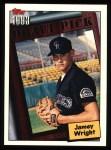 1994 Topps #744   Jamey Wright Front Thumbnail