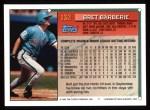 1994 Topps #132   Bret Barberie Back Thumbnail