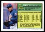 1994 Topps #179  Butch Huskey  Back Thumbnail