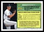 1994 Topps #167  Tim Davis  Back Thumbnail