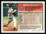 1994 Topps #308  Mike Trombley  Back Thumbnail