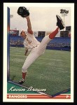 1994 Topps #345  Kevin Brown  Front Thumbnail