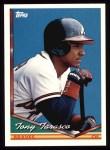 1994 Topps #442   Tony Tarasco Front Thumbnail