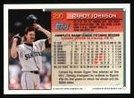 1994 Topps #290   Randy Johnson Back Thumbnail
