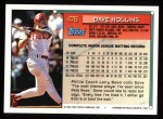 1994 Topps #476   Dave Hollins Back Thumbnail