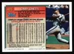 1994 Topps #403   Gary Gaetti Back Thumbnail