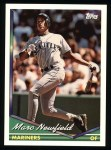 1994 Topps #262  Marc Newfield  Front Thumbnail