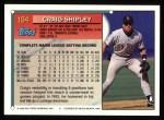 1994 Topps #184   Craig Shipley Back Thumbnail