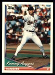 1994 Topps #413   Kenny Rogers Front Thumbnail
