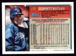 1994 Topps #172  Brett Butler  Back Thumbnail