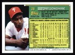 1994 Topps #28   Tony Longmire Back Thumbnail