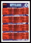 1994 Topps #79  Craig McClure  Back Thumbnail