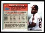 1994 Topps #480   Albert Belle Back Thumbnail