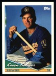 1994 Topps #411  Kevin Seitzer  Front Thumbnail