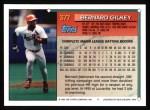 1994 Topps #377  Bernard Gilkey  Back Thumbnail
