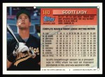 1994 Topps #160   Scott Lydy Back Thumbnail
