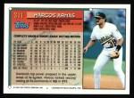 1994 Topps #311  Marcos Armas  Back Thumbnail