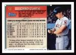 1994 Topps #56   Chad Curtis Back Thumbnail