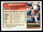 1994 Topps #451  Bob Scanlan  Back Thumbnail