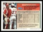 1994 Topps #154   Dan Wilson Back Thumbnail