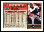 1994 Topps #150  Dwight Gooden  Back Thumbnail