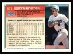 1994 Topps #681   Rick Renteria Back Thumbnail