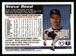 1995 Topps #321  Steve Reed  Back Thumbnail