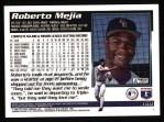 1995 Topps #169  Roberto Mejia  Back Thumbnail