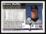 1995 Topps #625   Bruce Ruffin Back Thumbnail