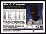 1995 Topps #465  Marvin Freeman  Back Thumbnail