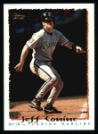 1995 Topps #130   Jeff Conine Front Thumbnail