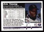1995 Topps #517   Eric Young Back Thumbnail