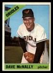 1966 Topps #193   Dave McNally Front Thumbnail