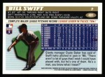 1996 Topps #401  Bill Swift  Back Thumbnail
