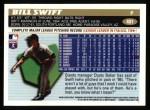 1996 Topps #401   Bill Swift Back Thumbnail