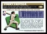 1996 Topps #188  Vinny Castilla  Back Thumbnail