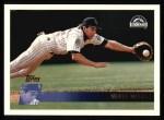 1996 Topps #149  Walt Weiss  Front Thumbnail