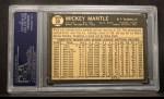 1964 Topps Venezuelan #50   Mickey Mantle Back Thumbnail