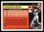 1997 Topps #446  John Jaha  Back Thumbnail