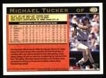 1997 Topps #453   Michael Tucker Back Thumbnail