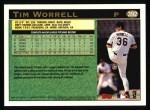 1997 Topps #392   Tim Worrell Back Thumbnail