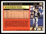 1997 Topps #345   Ed Sprague Back Thumbnail