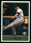1997 Topps #429   Rod Beck Front Thumbnail
