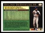 1997 Topps #285  Delino DeShields  Back Thumbnail