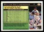 1997 Topps #131  William VanLandingham  Back Thumbnail